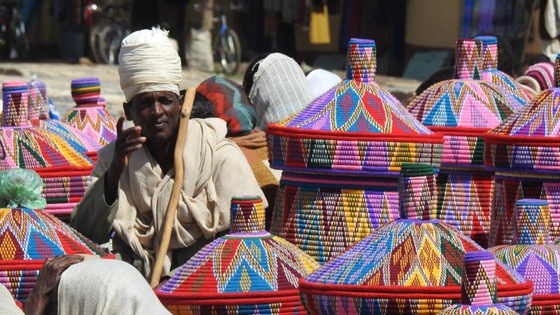 Der Korbmarkt von Aksum.