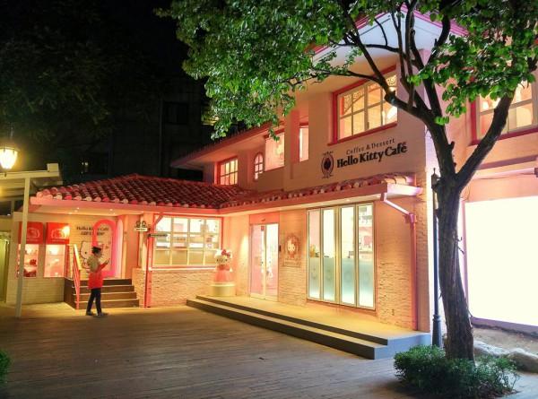Pink und süss: Das Hello Kitty Café.