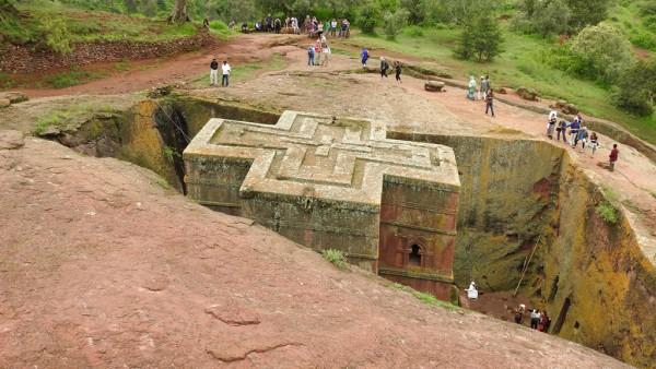 Das achte Weltwunder: Die Felsenkirchen von Lalibela.