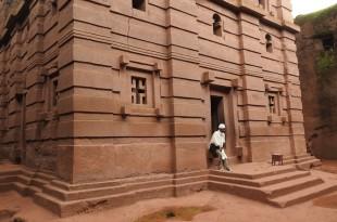 Touristisches Schwergewicht: Die Felsenkirchen von Lalibela. Fotos: O. Zwahlen