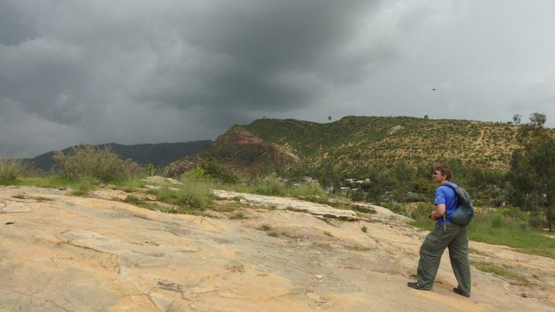 Dunkle Wolken über Wukro: Reisen in der Regenzeit.