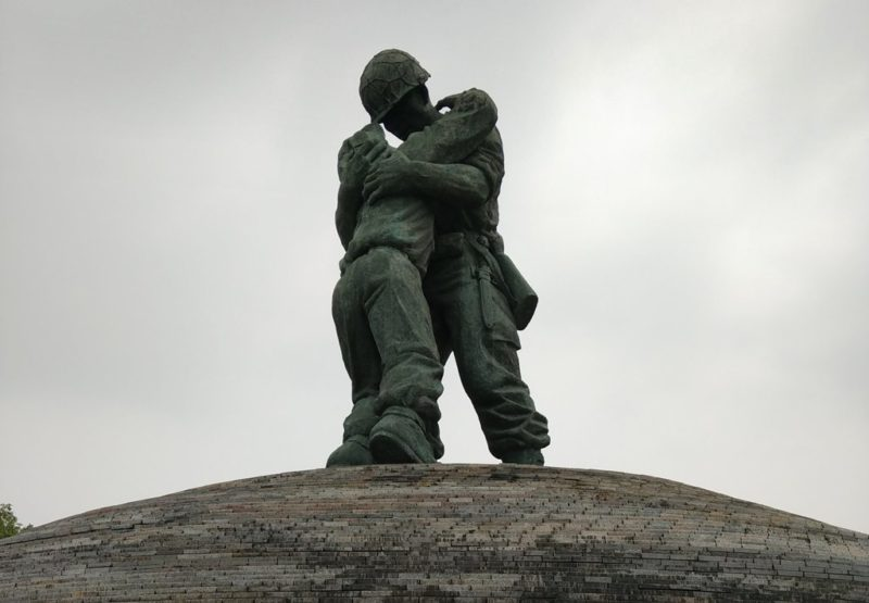 Mahnmal im Kriegsmuseum.