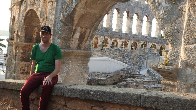 Istrien ist nicht nur Strand: Das römische Theater von Pula.