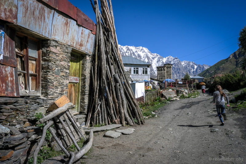 Ushugli war bis vor kurzem das höchste ganzjährig bewohnte Dorf Europas.