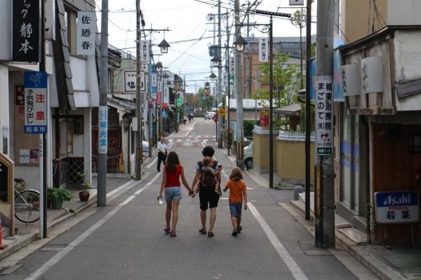 Die Grenzen des Nutzens: Japans Städte lassen sich am besten zu Fuss erkunden.