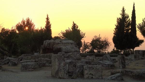 Die archäologische Zone von Hieropolis ist riesig, doch nicht alles gleich ansehlich.