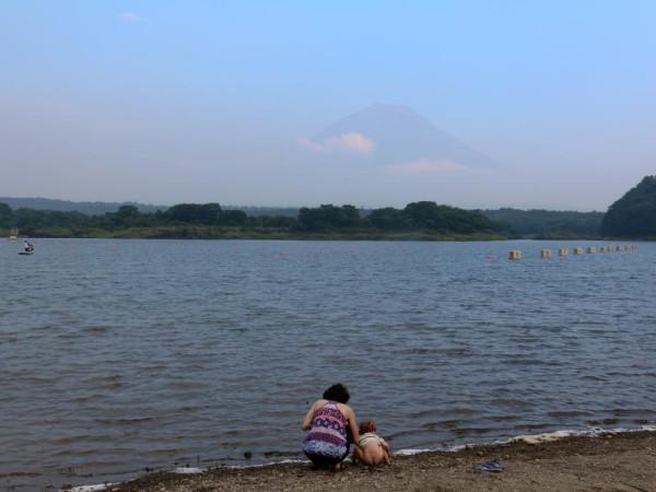 Die schönsten Ecken Japans: Hier Blick auf den bekannten Fuji-Vulkan.