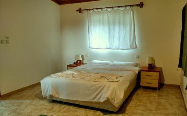 Fast 30 Quadratmeter ist das Doppelzimmer gross.