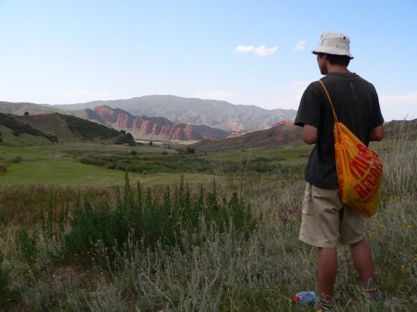 Auf einer eintägigen Wanderung im Westen Kirgistans.