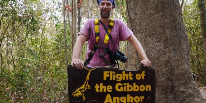 Flight of the Gibbon: Im Sauseschritt durch Angkors Wipfel