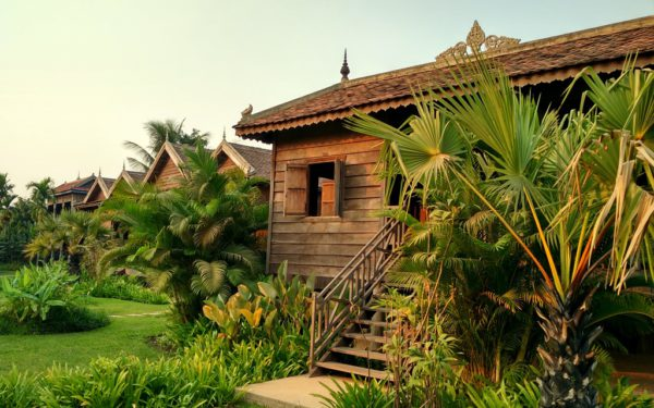 Selbst Luxushotels sind einigermassen bezahlbar: Sala Lodges in Siem Reap.