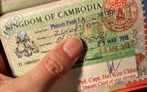 Effizient und günstig: Visa on Arrival in Phnom Penh.