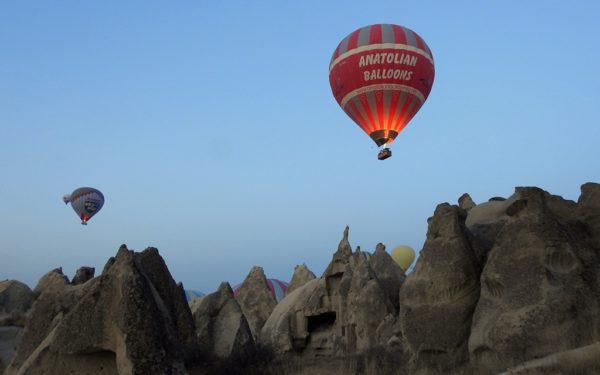 Etwas vom Besten, was du in Kappadokien tun kannst: Eine Ballonfahrt.