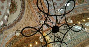 Das Innere der Blauen Moschee in Istanbul. Nur wenige Meter von hier riss ein Attentäter deutsche Touristen in den Tod. Fotos: OZ