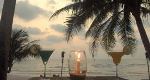 Abhängen an der Beach Bar.