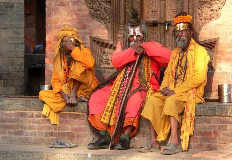Manchmal ist die soziale Kluft zu gross, wie hier in Nepal...