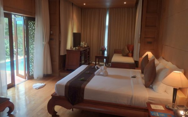 Die Villen des Koh Chang Paradise Resort.
