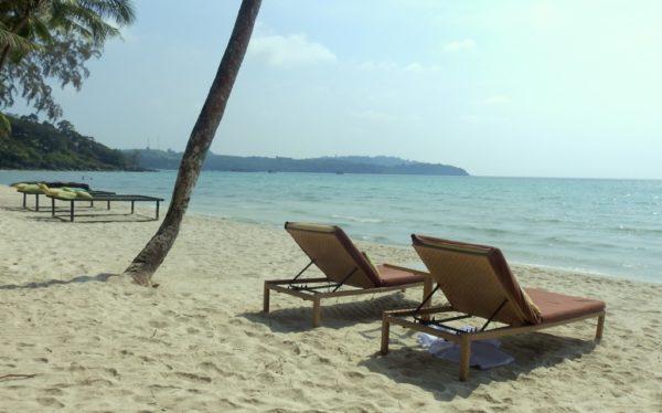 Gemütlicher Tag am Strand