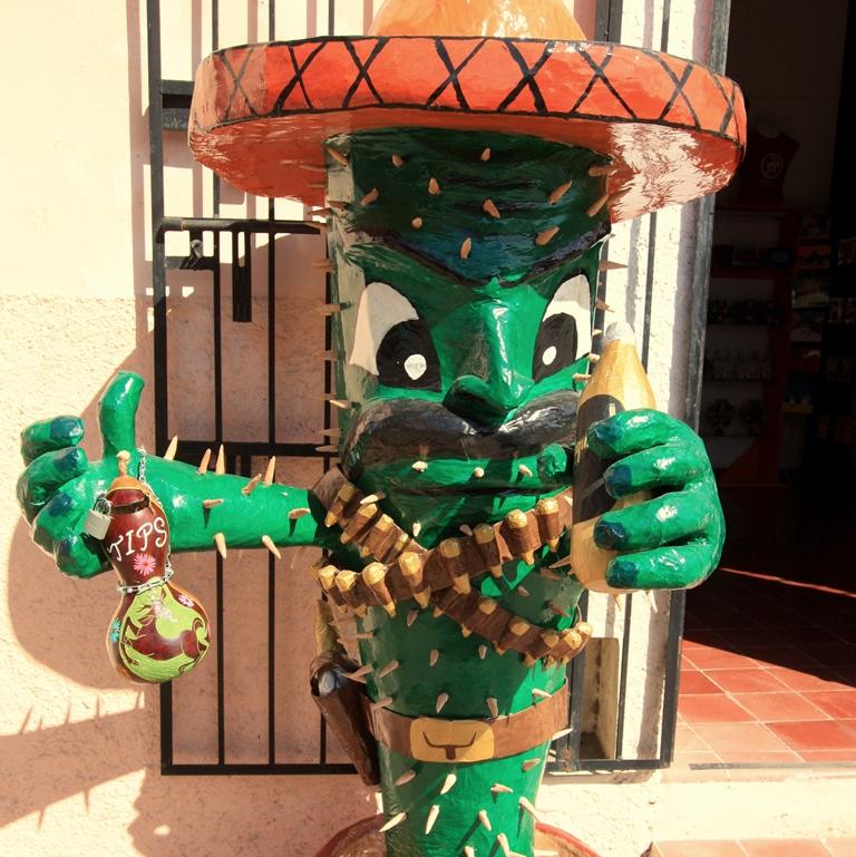 Mexiko ist ein guter Ort, um Spanisch zu lernen.
