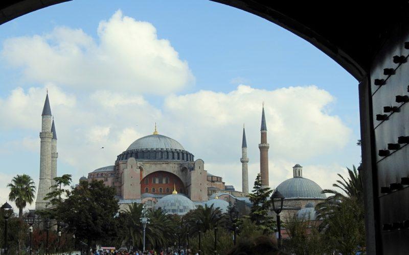 Die Hagia Sophia - das Wahrzeichen Istanbuls.
