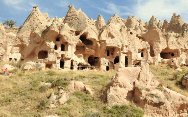 Die Höhlenstadt Zelve war zu Lebzeiten meiner Grosseltern noch bewohnt.