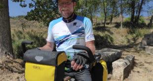 Der Fernradler Thomas Schröder schrieb die neue Ausgabe des Fahrrad Weltführers.