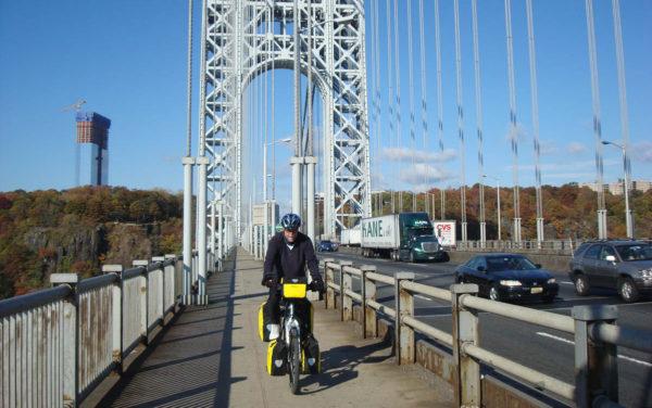 Der Autor durchquerte auf seinen zahlreichen Fahrradreisen auch die USA.