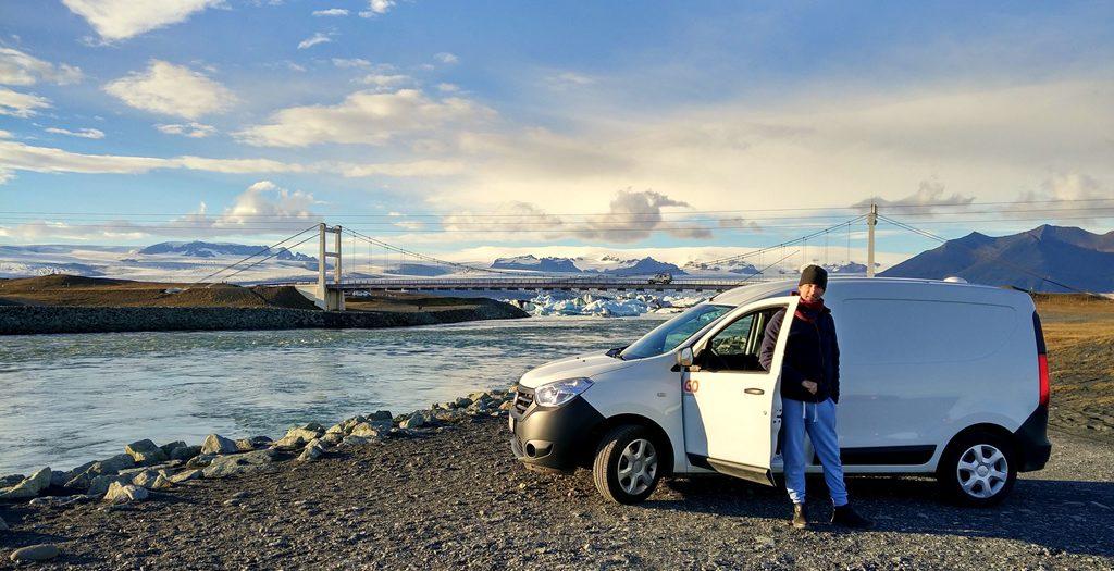 Das östliche Ende des Roadtrips: Die berühmte Gletscherlagune.