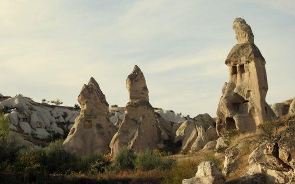 Die einzigartige Landschaft von Kappadokien.