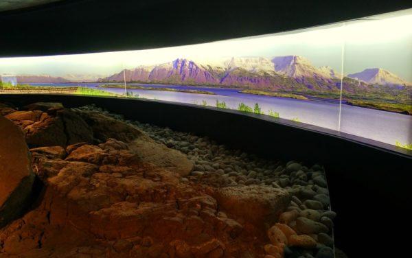 So sieht Reykavik ohne Häuser aus: Rundumsicht im Settlement-Museum.