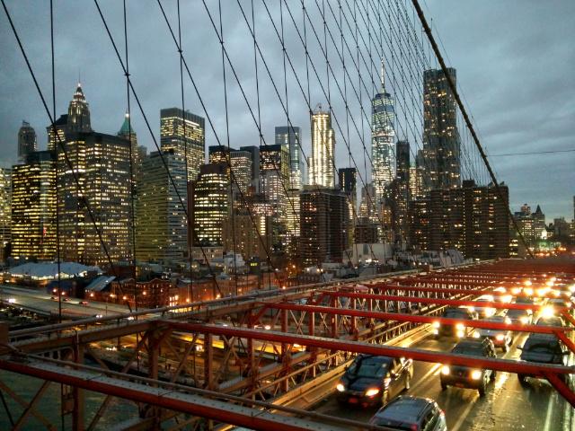 Brookyln Bridge: Zwei Wochen waren für NYC defintiv zu wenig.