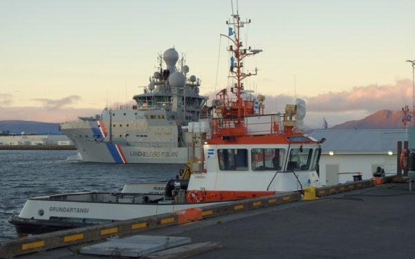 Der Hafen von Reykjavik.