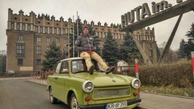 Bild von Ostalgie in Krakau: Im Trabi durch die sozialistische Vorzeigestadt Nowa Huta