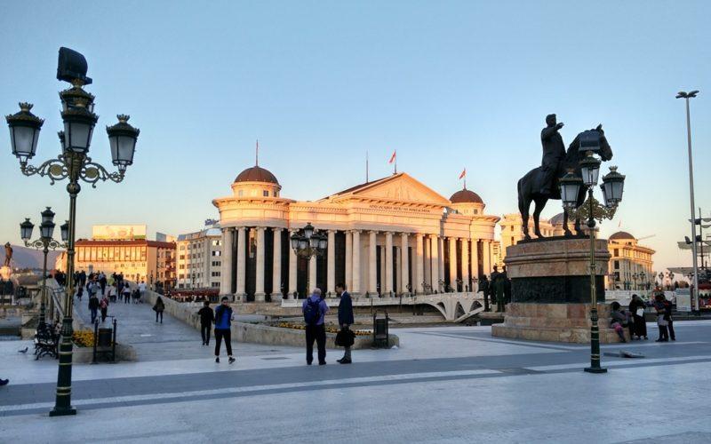 Geheimtipp für Osteuropa: Skopje, die mazedonische Haupstadt.