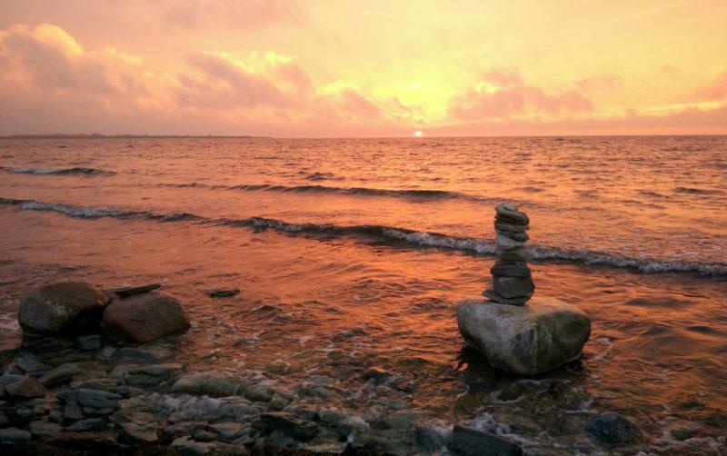Sonnenuntergang Saaremaa