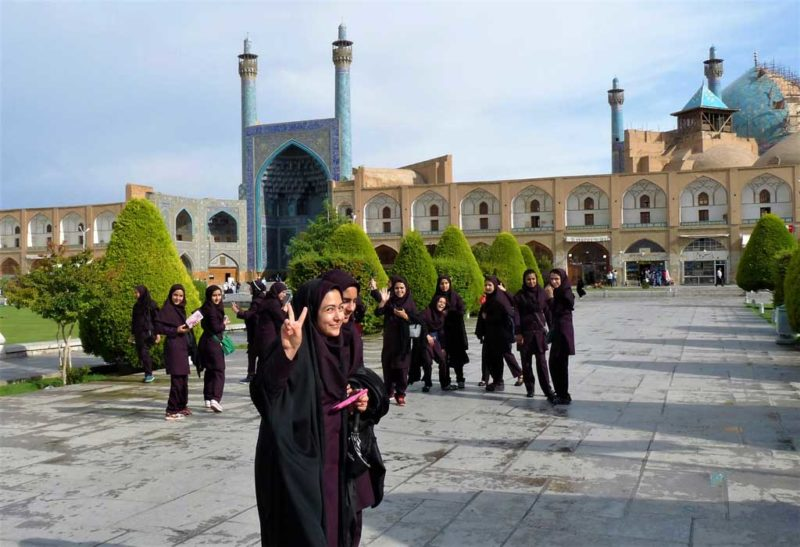 """Im Iran als Frau: """"Die Leute wollen, dass sich Gäste wohlfühlen"""""""