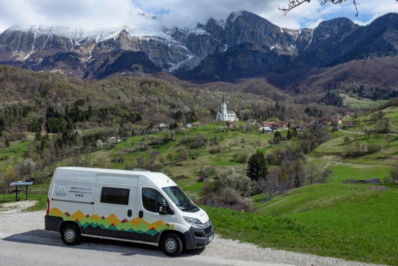 Slowenien mit dem Camper: Route, Tipps und Kosten