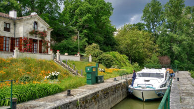 Bild von Hausbootferien in Aquitanien: 5 Erkenntnisse über das Reisen auf einem Boot