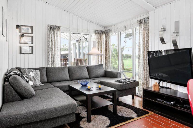 familienfreundliches Ferienhaus nahe am Strand bei Helbersko