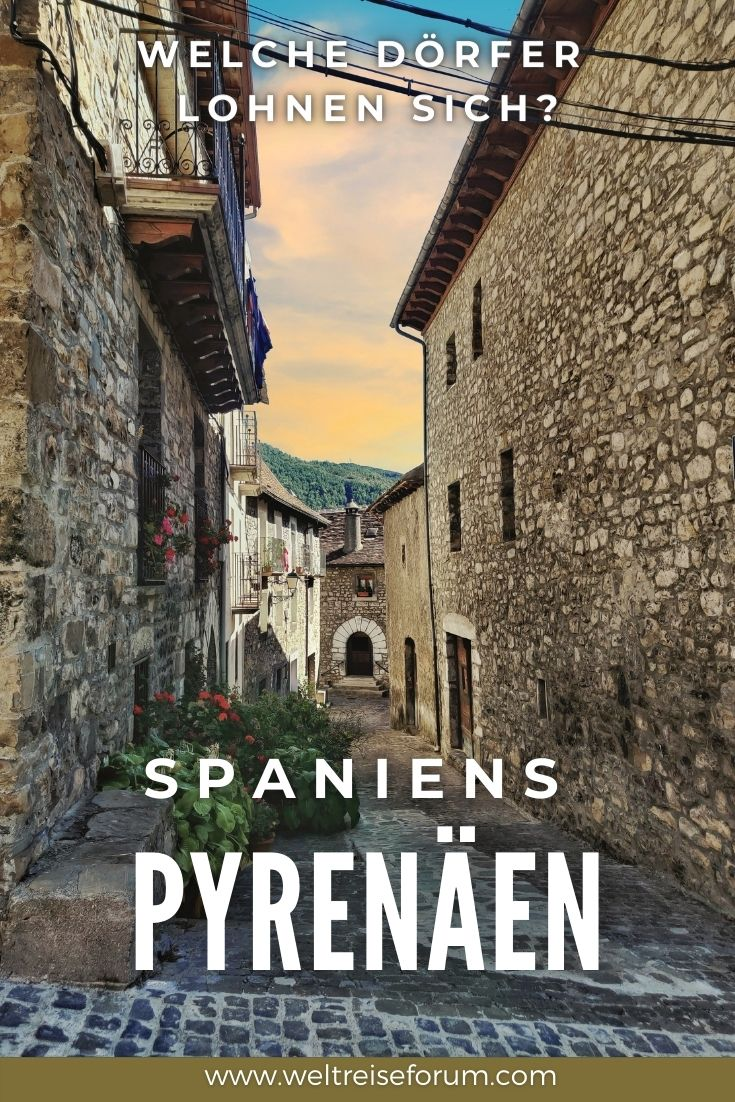 Fünf schöne Dörfer in den Pyrenäen, die sich lohnen