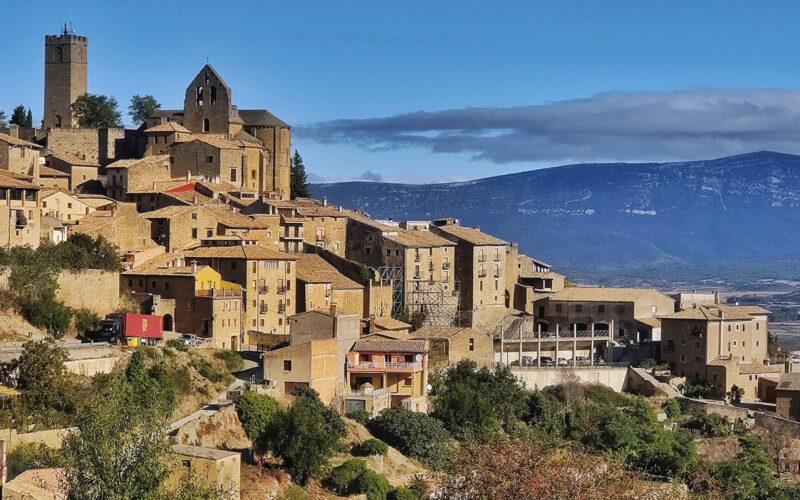 Blick auf die Altstadt von Sos del Rey Catolico.