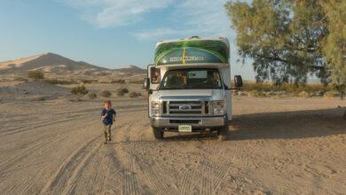 """Bild von Im Wohnmobil mit Kind: """"Für mich zählen die praktischen Vorteile"""""""