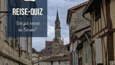 Bild von Quiz: Wie gut kennst du Europa?